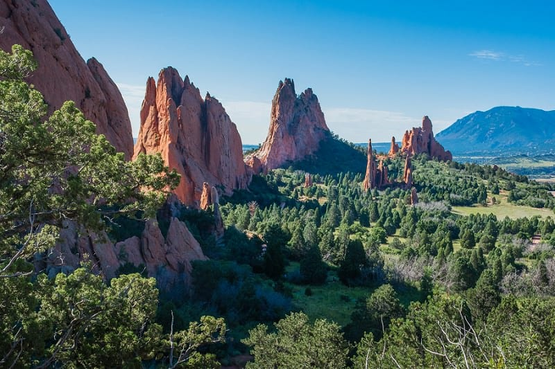 best places to elope in the us - garden of the gods