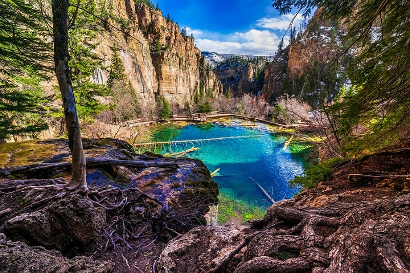 best places to elope in the us - hanging lake