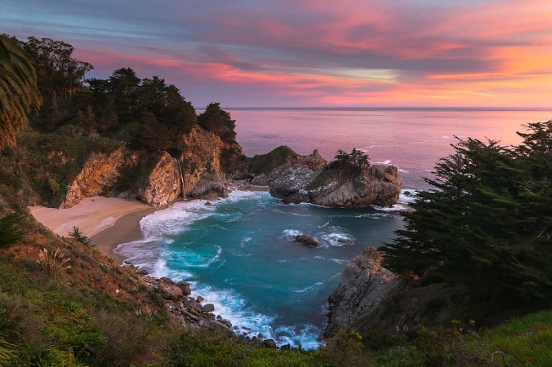 best places to elope in the us - julia pfeiffer burns