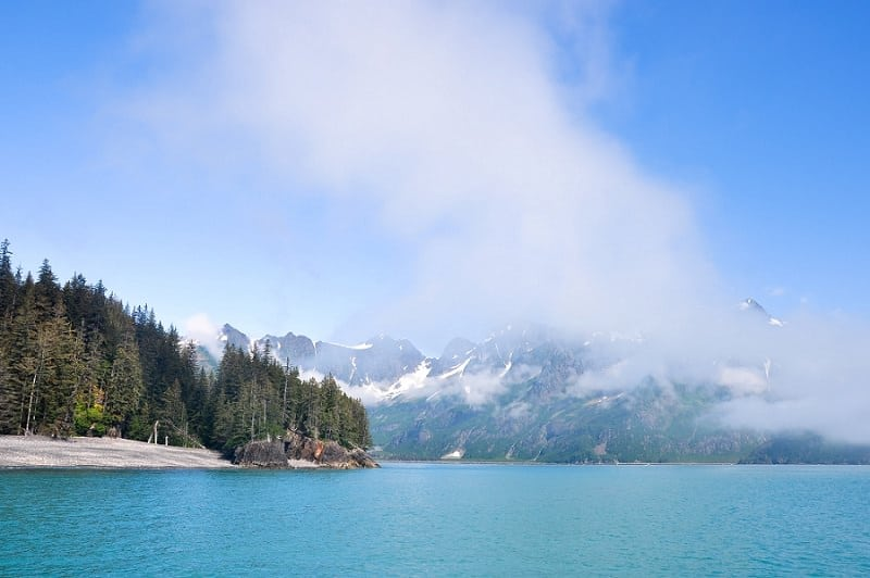 best places to elope in the us - kenai fjord