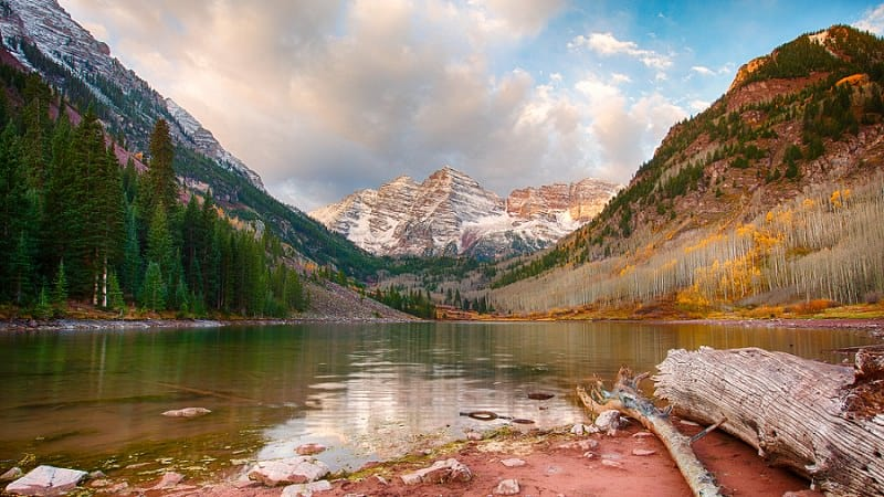 best places to elope in the us - maroon lake