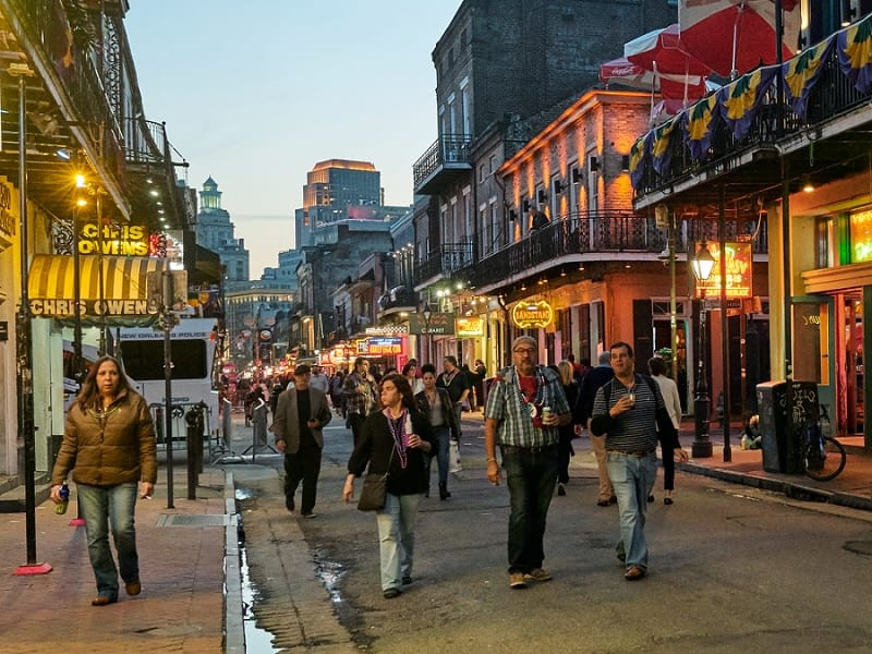 best places to elope in the us - new orleans