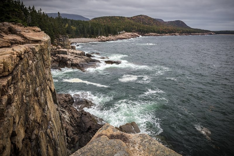 best places to elope in the us - otter cliffs