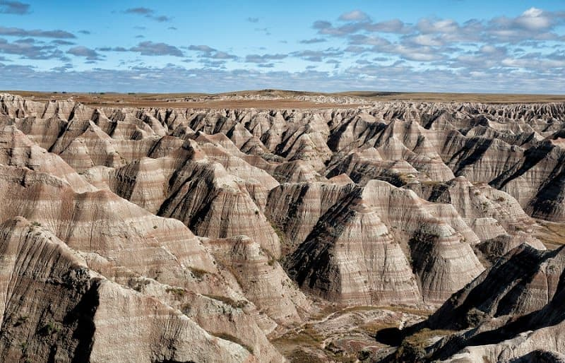best places to elope in the us - south dakota badlands