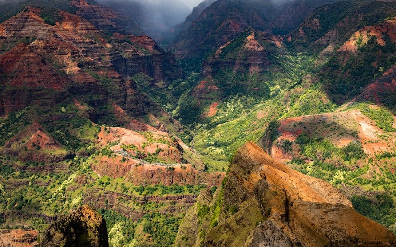 best places to elope in the us - waimea canyon