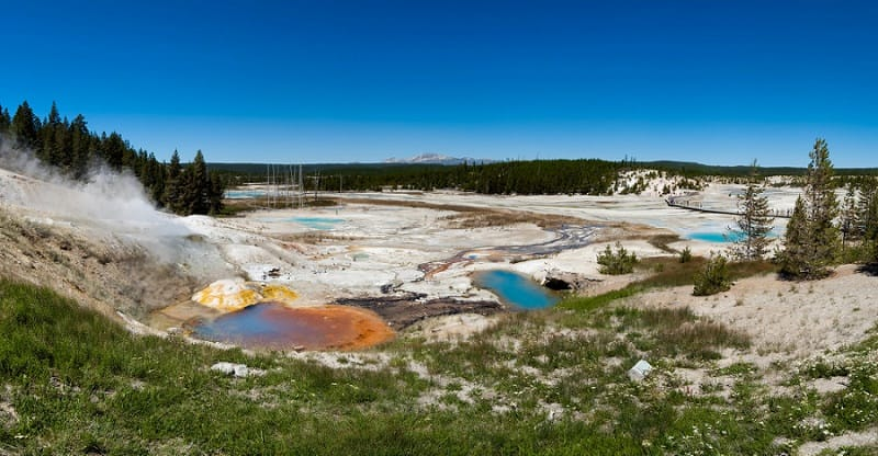 best places to elope in the us - yellowstone national park