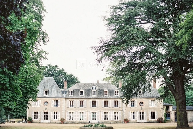 most beautiful wedding chateau france - chateau bouthonvilliers