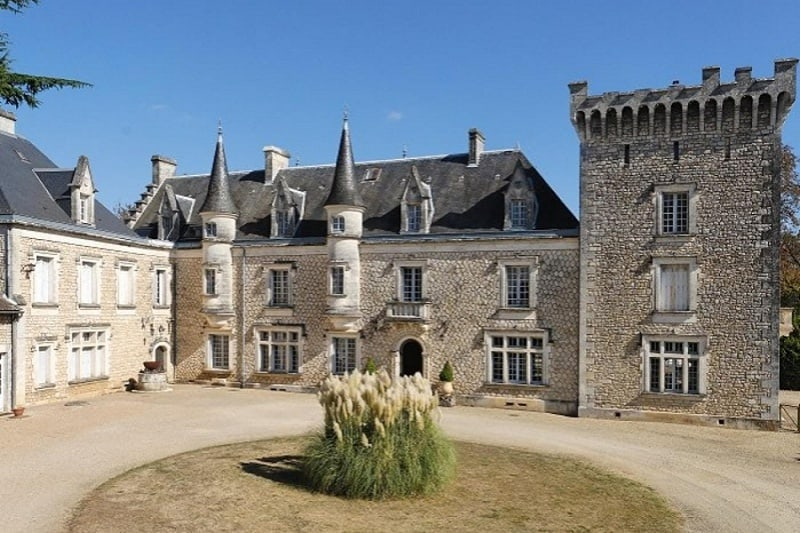 most beautiful elopement chateau in france - chateau de la couronne