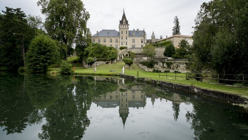 most beautiful chateau wedding in france - chateau de lisse