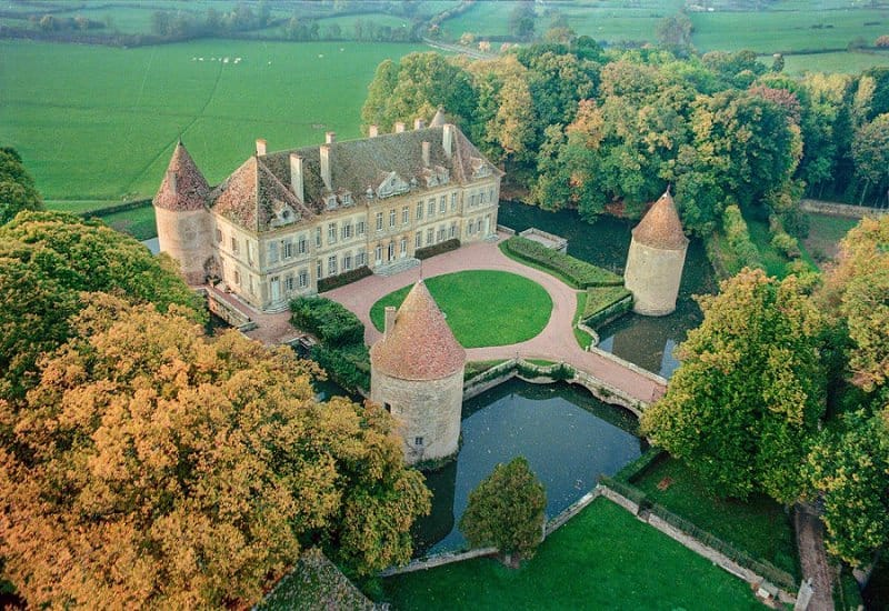 most beautiful wedding chateau venue france - chateau missery