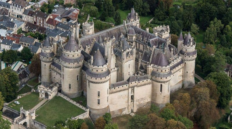 most beautiful chateau for wedding in france - chateau de pierrefonds