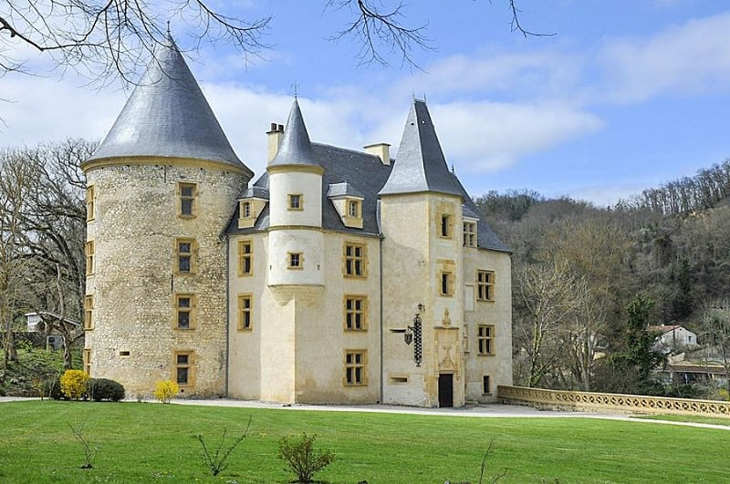 most beautiful chateaux for elopement - chateau saint martory