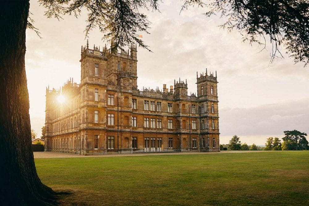 where to elope in europe - highclere castle
