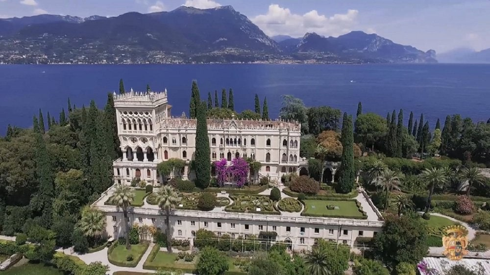 where to elope in europe - isola del garda