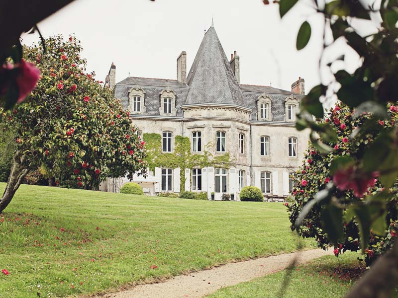 most beautiful chateau wedding in france - manoir kerouzien