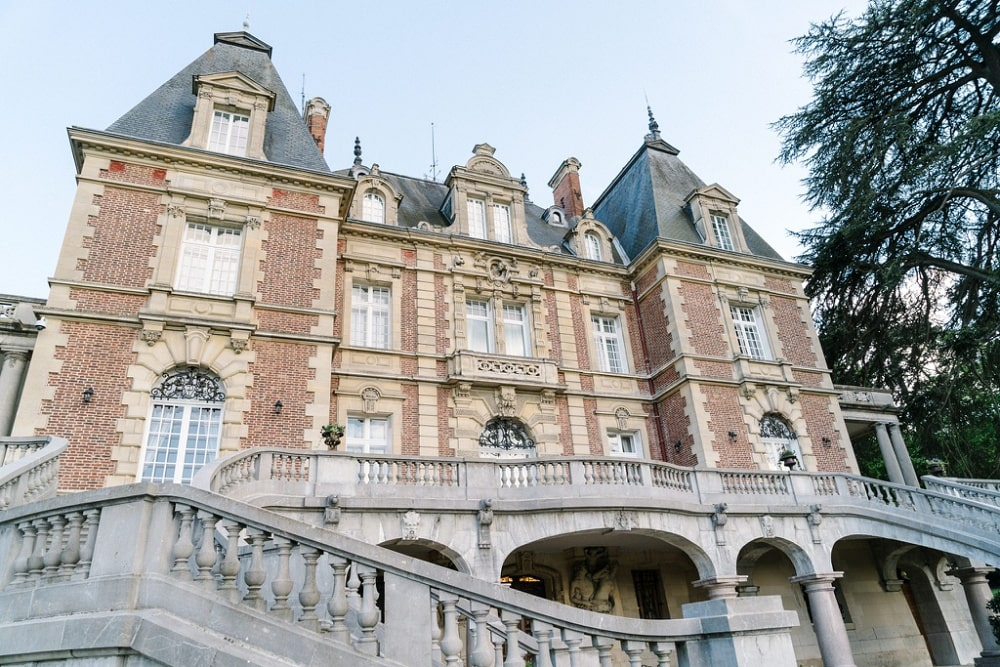 best elopement venue in france - chateau bouffemont