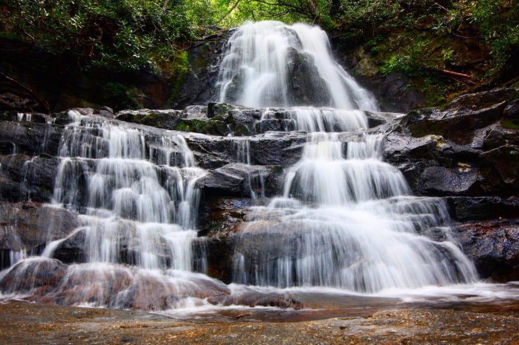 gatlinburg elopement - laurel falls