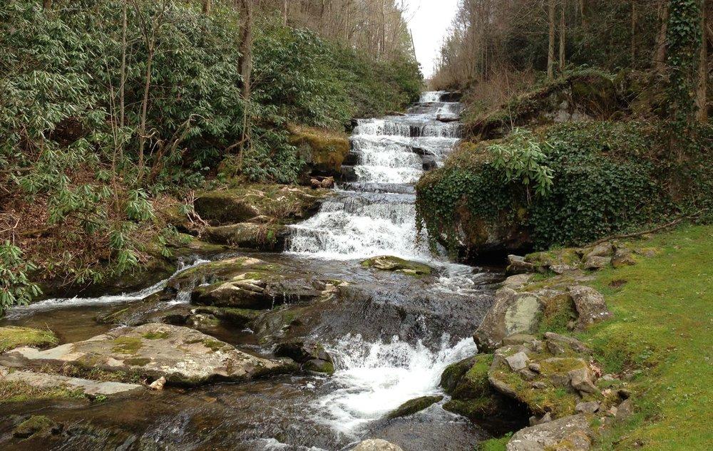 gatlinburg elopement - serenity falls