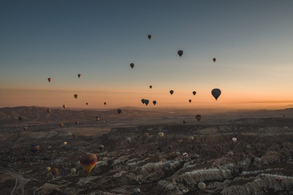 Cappadocia elopement in Turkey