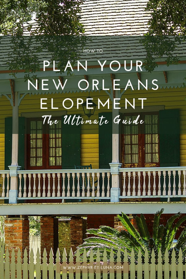 How to plan your elopement in new orleans