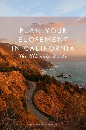 Le guide ultime pour se marier en Californie