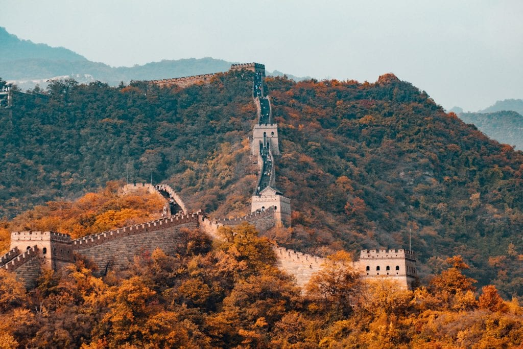 The great wall of China - an amazing adventure elopement idea