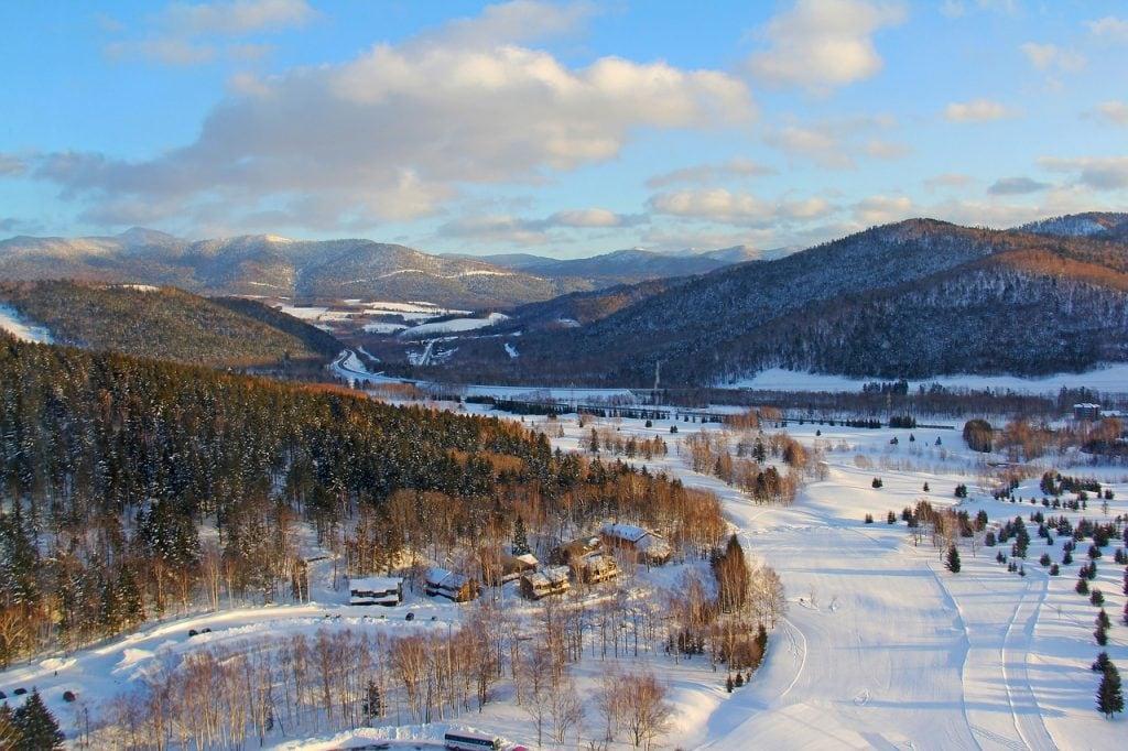 Hokkaido elopement