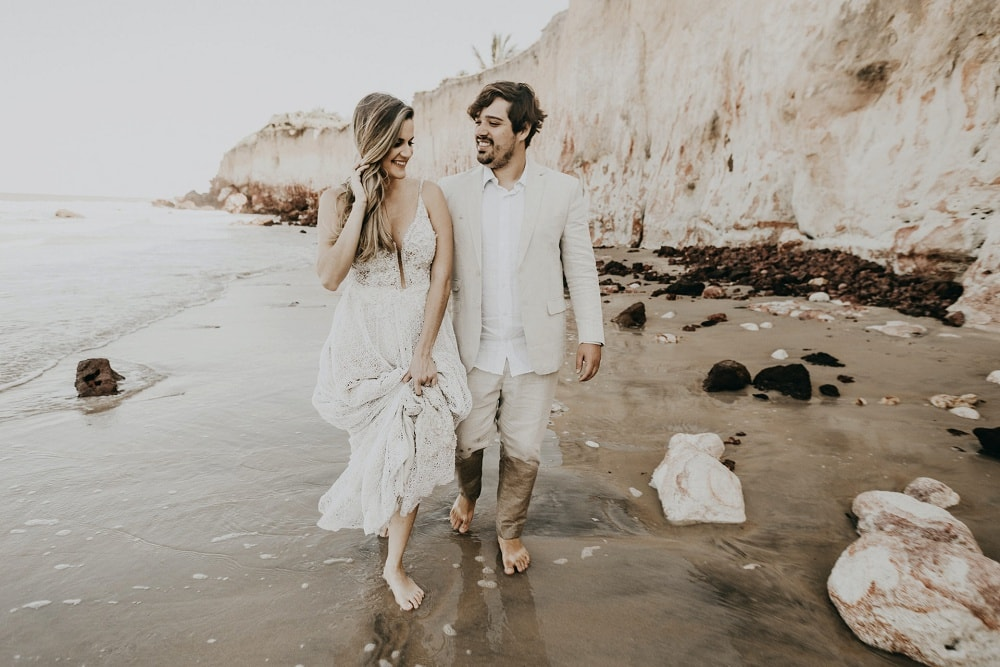 what to wear for a bali elopement - the suit