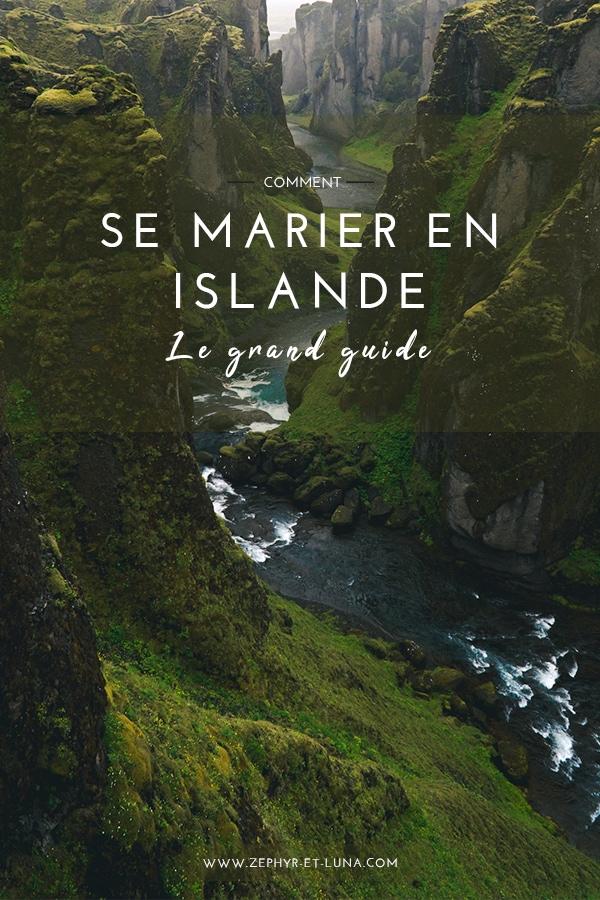 Comment se marier en Islande - le grand guide