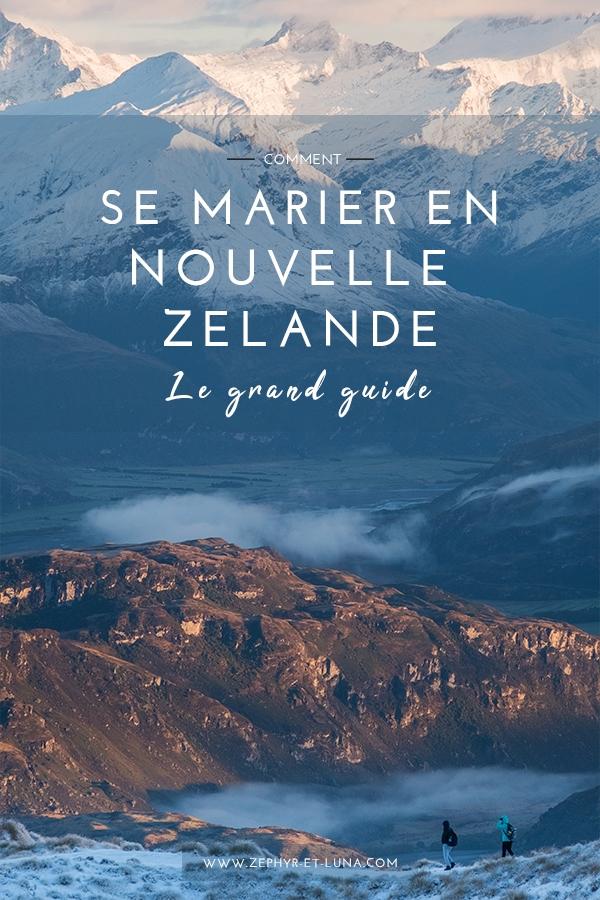 Comment se marier en Nouvelle Zélande - le grand guide