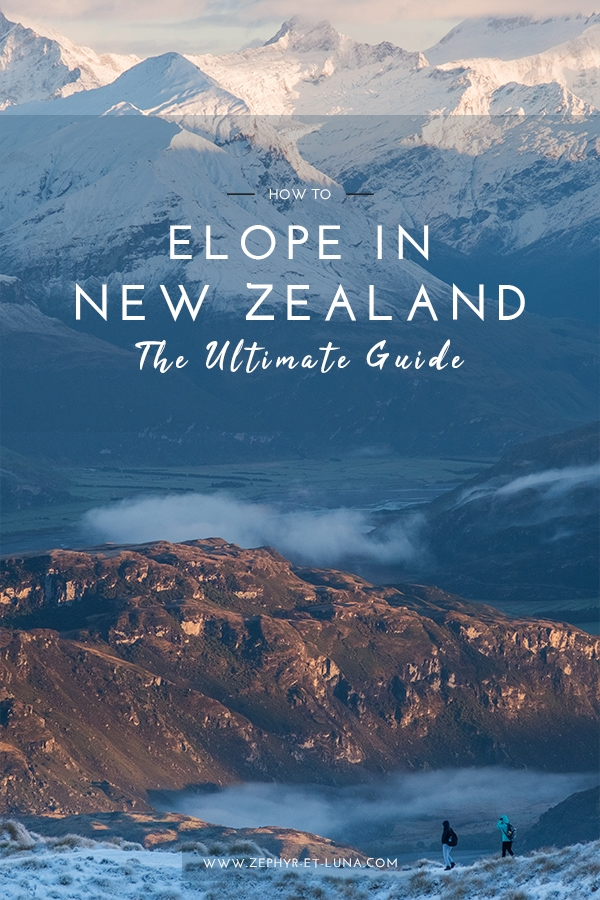 How to elope in New Zealand - the ultimate guide