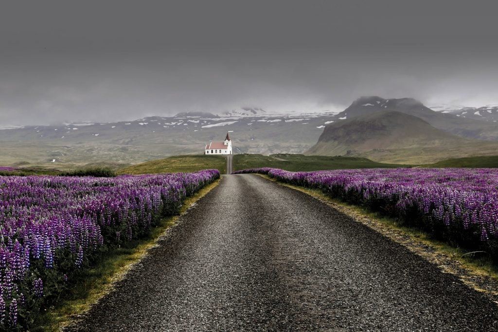 When to elope in Iceland - spring