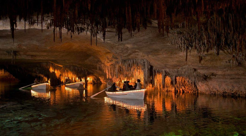 Where to elope in Spain - Cuevas del Drach