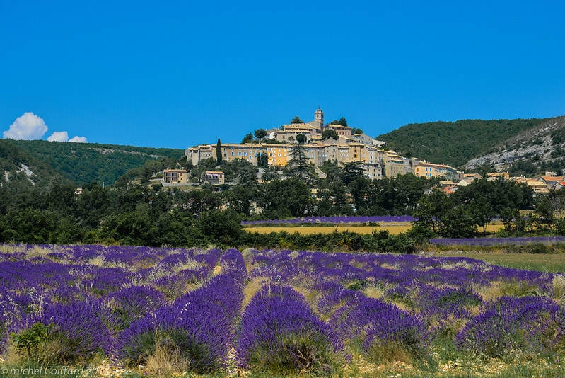 Banon, one of the most beautiful villages in provence