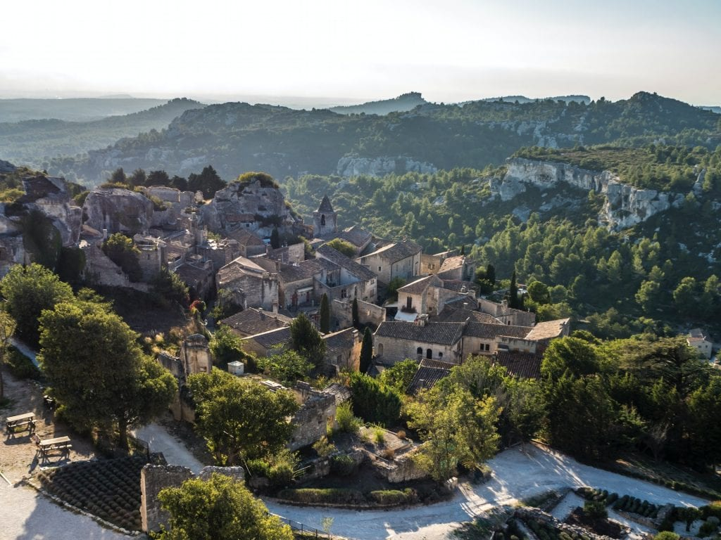Les Baux de Provence, one of the most beautiful villages in Provence