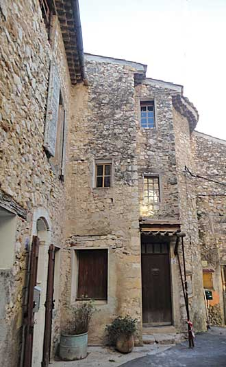 Corbieres, one of the most beautiful villages in Provence