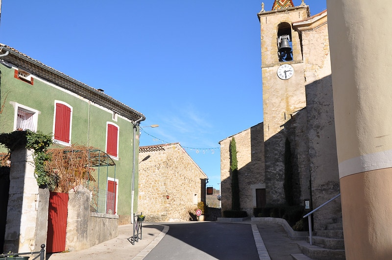 Cruis, one of the most beautiful villages in Provence