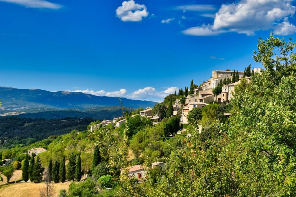 Lurs, one of the most beautiful villages in Provence