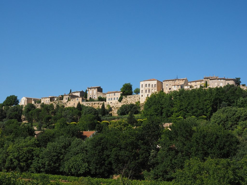 Ménerbes, one of the most beautiful towns in Provence
