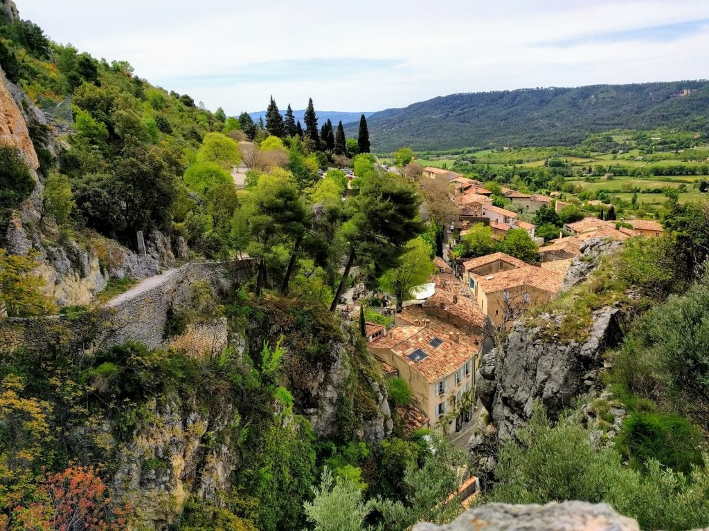 Moustiers Sainte Marie, one of the most beautiful villages in Provence