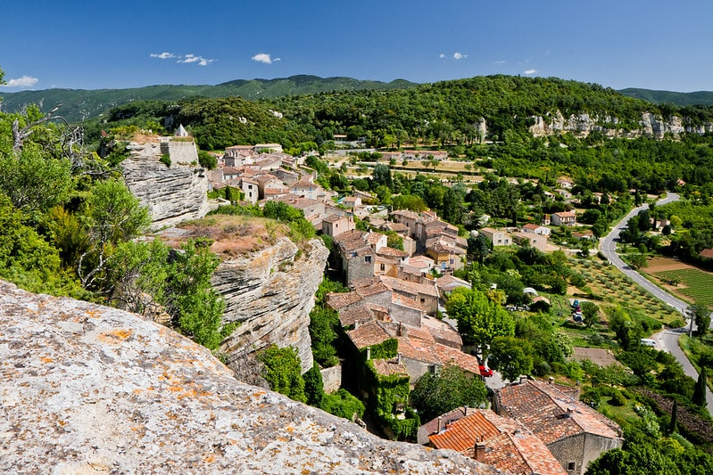 Saignon, one of the most beautiful villages in Provence