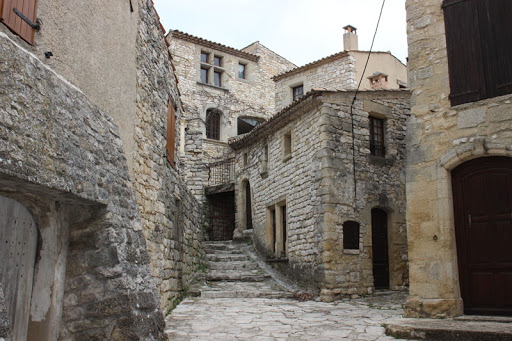 Vacheres, one of the most beautiful villages in Provence