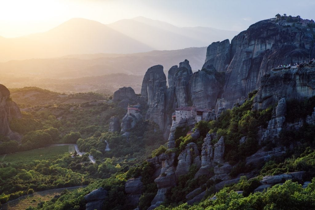 Where to elope in Greece - Meteora