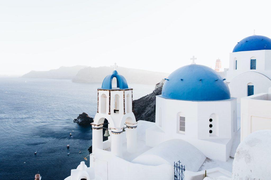Where to elope in Greece - Santorini