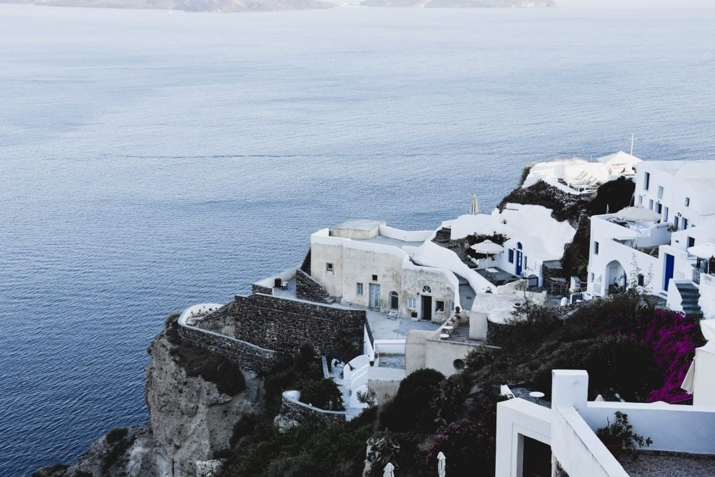 When to elope in Greece - winter