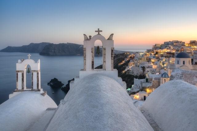 12 hour elopement package in Santorini