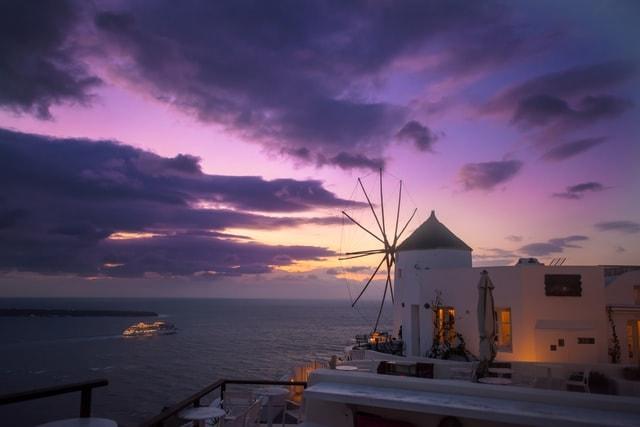 3 day elopement package in Santorini