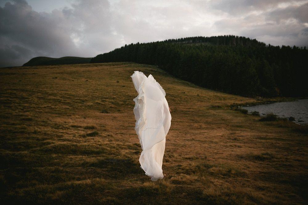 Best dress for an elopement in the Faroe Islands