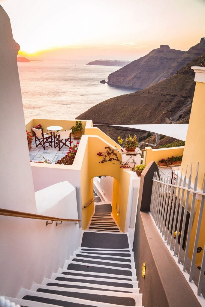 How to legally elope in Santorini