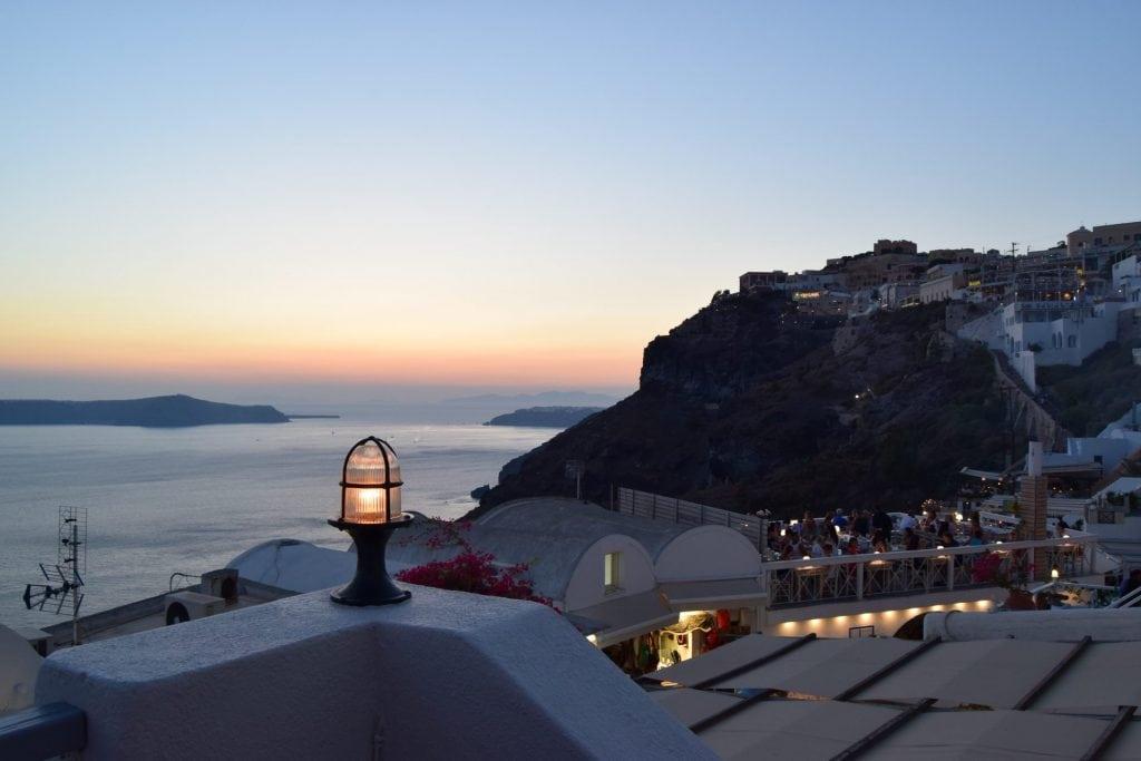 When to elope in Santorini - winter
